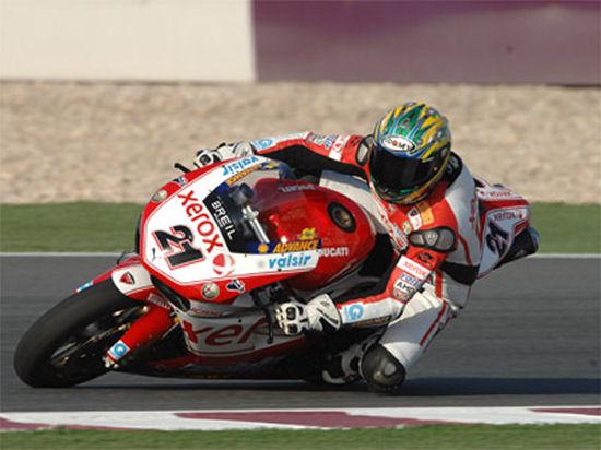 SBK – Ducati: Troy Bayliss completamente rimesso