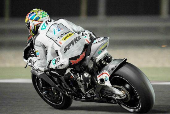 Andrea Dovizioso italian hrc rider