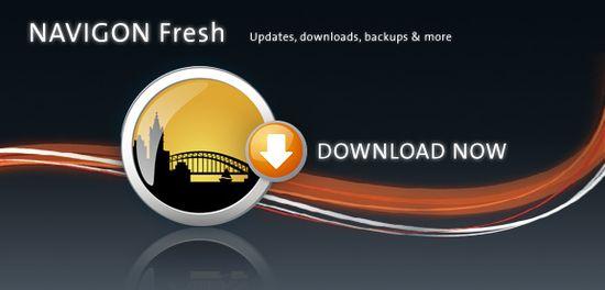 NAVIGON FreshMaps, dispositivo di navigazione di ultima generazione