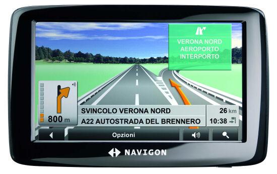 Finalmente in commercio il navigatore Navigon