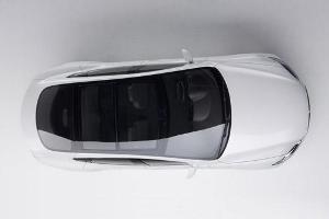Tesla Model S: l' auto elettrica con una linea da coupè per il mercato americano