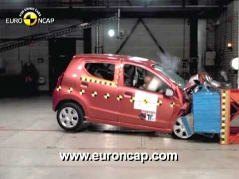 Video thumbnail for youtube video Suzuki Alto Crash Test: solo 3 stelle EuroNCAP per la piccola indiana | Mondomotoriblog