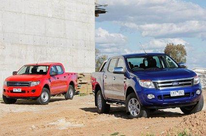 Ford Ranger 2012, prime foto ufficiale del pick up americano