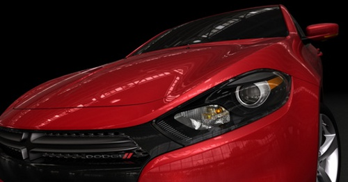 Dodge Dart, la berlina grintosa al Salone di Detroit 2012