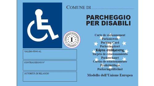 contrassegno disabili europeo come funziona