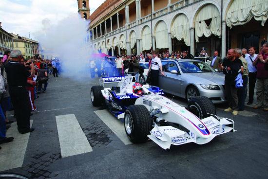 Da Faenza A Brisighella Sulla Bmw Di Formula 1 Mondomotoriblog