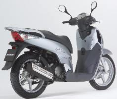Honda SH la quinta generazione glamour del city bike