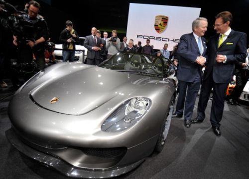 Porsche 918 spyder ibrida annunciata