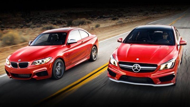 BMW e Mercedes
